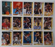 1991-92 Upper Deck Miami Heat Team Set Of 17 Basketball Cards