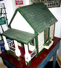 Authentic antique hand made architectural model wooden doll house, circa 1920