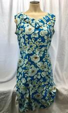 Vintage Mod Shaker Square Bill Sims Spring Floral Dress 1960's