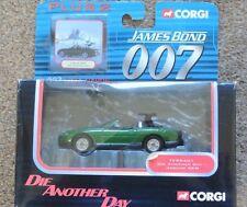 Corgi Plus 2 diecast 007 James Bond TY95401 Jaguar XKR Die Another Day