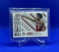 2018-19 Panini Contenders Draft Picks School Colors #9 Collin Sexton
