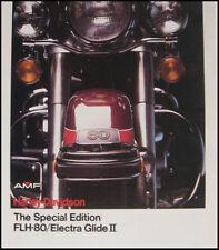 1978 Harley Davidson Electra Glide, FLH-80 Brochure Original MINT