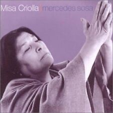 MERCEDES Sosa Misa Criolla (1999) [CD ALBUM]