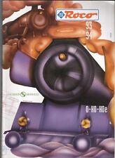 Catalogo ROCO 1993-94  LINGUA ITALIANO PAG 234 RARO HO MODELLISMO