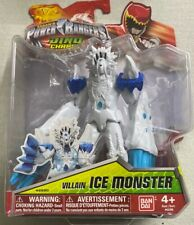 Power Rangers Dino Charge Villain Ice Monster Bandai Action Figure New Rare