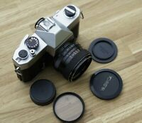 Yashica TL-ELECTRO 35mm film SLR with 50mm 1.7 - SERVICED - MINT