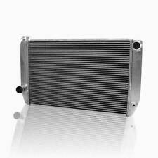 """Griffin 1-56201-X Universal Fit Radiator 24"""" x 15.5"""" 2-Row Crossflow Ford Style"""