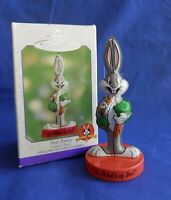 Hallmark Keepsake Bugs Bunny Looney Tunes Tin Christmas Holiday Ornament 2000