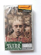 """KORN - """"UNTOUCHABLES"""", MC, Tape, Audio Cassette [2002]- Factory sealed!"""