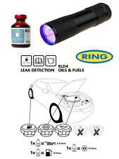 UV Dye & Torch Kit Leak Detection Dye For Petrol Diesel Fuel Leaks RLD4 Ring
