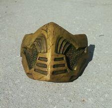 NEW MKX HANDMADE Mortal Kombat X Inspired mask costume cosplay Scorpion Theme