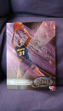 Basketball NBA skybox 1997-98 Reggie Miller metal universe #90