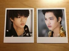 EXO mamá Kai set of 2 Official Polaroid Cards