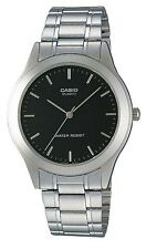 Casio MTP1128A-1A Men's Enticer Metal Fashion Black Dial Casual Dress Watch