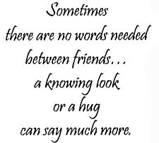 Unmounted Rubber Stamps, Friendship Sayings, Friendship Stamps, Friends, Hugs