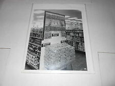 #1508 PHOTO NEGATIVE -  ADVERTISING - 1959 RIPPIN GOOD COOKIES STORE DISPLAY
