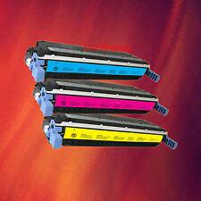 3 Colour Toner for HP 5500N 5550DTN C M Y- 1 Set of 3