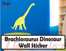 Brachiosaurus Dinosaur Wall Vinyl Sticker