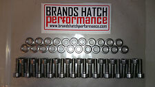 RS2000 Alloy Sump STAINLESS  bolt nut and washer set - complete kit - Pinto