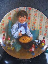 McClelland Mother Goose Series Little Jack Horner '82 Ltd Ed plate Mib
