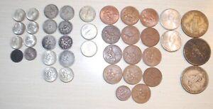 Lot of 39 CENTAVOS & PESO FILIPINAS USA (3 Peso & 37 1/5/10/20/50 Centavos)