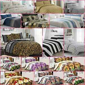 Bedding Beats 100% Egyptian Cotton Printed Duvet Cover Sets/Quilt Sets All Sizes