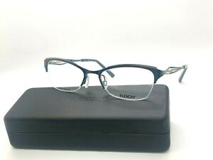 Authentic FLEXON FLW3001 430 Pacific Blue Eyeglasses Frame 51-18-135mm TITANIUM