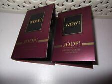 Women's Joop WOW 1 X 1.2 Ml Eau De Toilette Sample Spray Release 2018