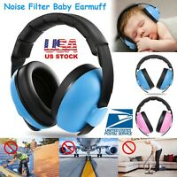 Baby Kids Child Ear Muff Defenders Noise Reduction Comfort Earmuff Protection US