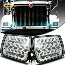"7x6"" LED Sealed Headlight Set For International Harvester 4700 4800 4900 8100"