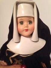 Vintage Catholic Nun Sleepy Eyes Doll 12 inches