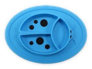 Silicone Placemat Mini - Baby Plate - Toddler Ladybug Feeding Mat