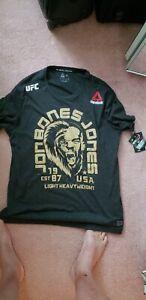 Reebok Jon Bones Jones UFC T-SHIRT W/TAGS