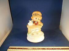 "Vintage Adorable Little Girl & Lemonade Stand ""My Way-Sinatra"" Music Box"
