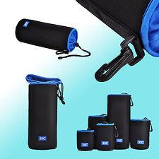 JJC Nlp-28 Neoprene Lens Pouch Case for Canon Nikon Sony Panasonic Fujifilm
