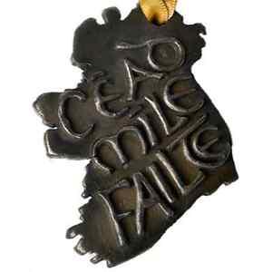 Bronze Cead Mile Failte Hanging Decoration (TSF36)