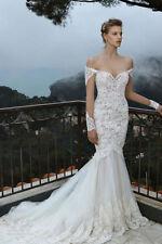 Tulle Long Sleeve Wedding Dresses