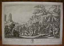 F. COLLIGNON `ABIGAIL VOR DAVID; ABIGAIL AND DAVID` NACH J. VALDOR, IFF 1, ~1640