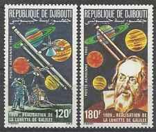 Timbres Cosmos Djibouti PA213/4 ** lot 25932