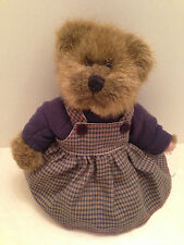 """Russ Berrie Vintage Collection Lindsey Stuffed Plush Teddy Bear Toy 7"""""""