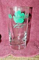 Scarce 1952 Date Drinking Glass-The Clover Club-Bluefield, WV