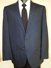 Vtg 50's TWEEDS Men VLV Jacket ROCKABILLY Sport Coat BLUE SHARKSKIN Blazer 42 L