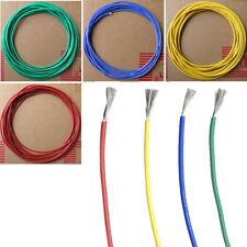 LC_ Flexible caoutchouc silicone Câble haute température résistant 20-30awg Fi