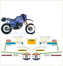 kit adesivi stickers compatibili xt 600 z tenere dakar 1985 gauloises
