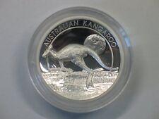 8 Dollar Australien Kangaroo Känguru 2015 High Relief 5 oz Silber PP