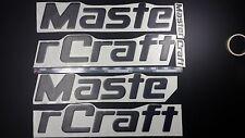 """MasterCraft boat Emblem 44"""" black + FREE FAST delivery DHL express"""