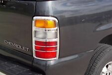 CHEVY TAHOE GMC YUKON 2006 PUTCO 400803 CHROME TAIL LAMP COVER BEZEL
