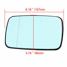 for 97-03 BMW E46 3 Series E39 5 Series Heated Blue Door Mirror Glass Left Side