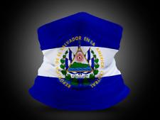El Salvador Flag Gaiter Face Mask