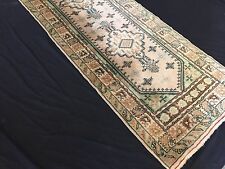 Old John Lewis  Turkish Kula handmade Runner wool Oriental and Tribal 327x83cm